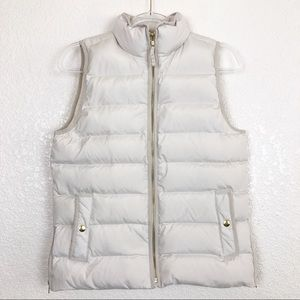 J. Crew Anthem Down & Feather Fill Puffer Vest, S